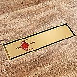 Haixng Titan-Gold Geruch-Nachweis Bodenablauf Dusche Bodenablauf aus Hochwertigen Messing Gefertigt: 82mmx300mm