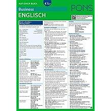 PONS Business English auf einen Blick: Die kompakte Übersicht für den Büroalltag (PONS Auf einen Blick)