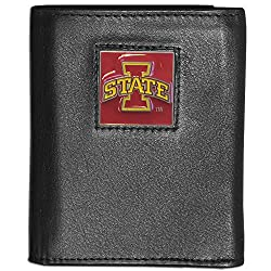 NCAA Iowa State Cyclones Deluxe Leather Tri-fold Wallet