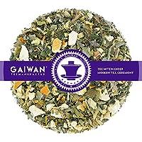 """N° 1122: Tè alle erbe in foglie """"Tè delle Coccole"""" - 100 g - GAIWAN® GERMANY - tisana alle erbe, tisane in foglia, arancia, vischio, anice, melissa, ribes, millefoglie, liquirizia, finocchio, gelsomino, girasole"""