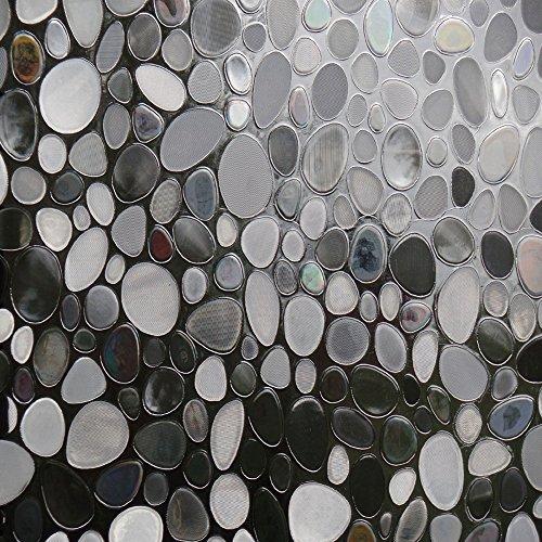 HXSS Opaque Static Cling Film de verre (sans adhésif) pour la chambre des enfants et salle de séjour, 45cm par 200cm