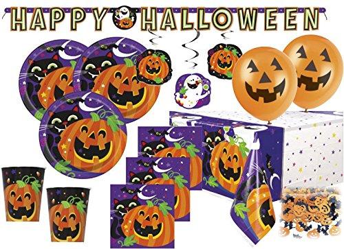 en Deko Set Fröhliches Halloween für 8 Personen (Hängende Person, Halloween)