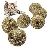Natur Katze Minze Ball catnip Ball Kauspielzeug spielen, beschichtet mit catnip Gras Farbe