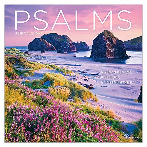 Psalms 2019 Wall Calendar