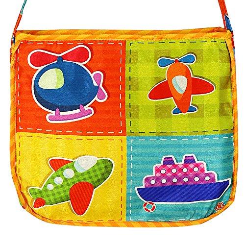 Numérique imprimé graphique Cartable enfants multicolor - Imperméable Dupion Soie Sac livre pour enfants avec Zipper Fermeture