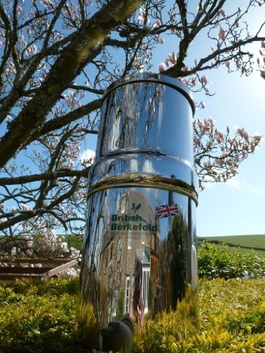 Stainless Steel Gravity Water Purifier with Super Sterasyl Filters - UK ONLY