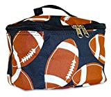 Football - Black : NGIL Cosmetic Pouch, Football Print