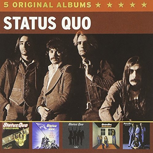 Status Quo: 5 Original Albums (Audio CD)
