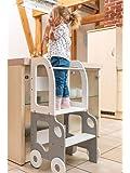 Tour d'observation Montessori Bureau et tabouret