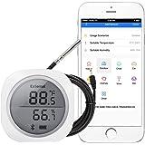 Inkbird IBS-TH1 PLUS Draadloze Thermometer en Hygrometer voor Android- en iOS-telefoon,Temperatuur- en Vochtigheidsmeter voor