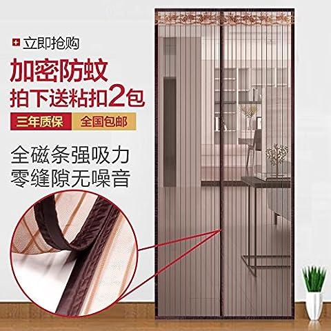 rugai-ue Mosquito Vorhang Fenster Bildschirm Vorhang Haushalt Partition Verschlüsselung leise Sommer Küche magnetisch Weiche Bildschirm Tür Vorhang