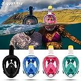 #8: Revolutionary Full Dry Snorkeling Mask 180 Degree Vision, Anti Fog, Free Breathing