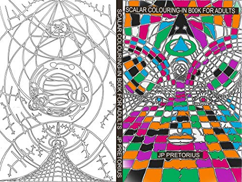 Scalar colouring-in book for adults (English Edition)