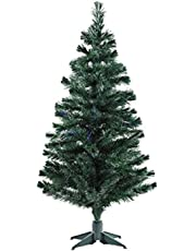 fizzytech Artificial 6ft Christmas Tree Xmas Normal Tree with Solid Plastic Legs,Light Weight, Perfect for Christmas Decoration (Green, 6 FT)