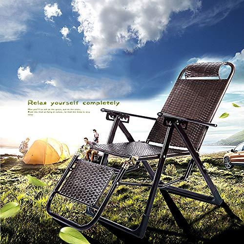 HOUADDY Liegestuhl Sonnenliege, Campingstuhl, Saunaliege, Gartenstuhl mit Liegefunktion, Terrassenstuhl mit Armlehne, Klappbar und verstellbar, Anthrazit, 73 x 60 x 112 cm