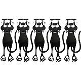 adolescenti iBaste Segnalibro a forma di gatto nero studenti bambini idea regalo per gli amanti della lettura