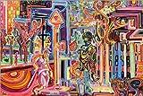 Posterlounge Forex-Platte 180 x 120 cm: der Mann, der Ein Feuerzeug und Eine Ente und Eine Schlange ist von Josh Byer