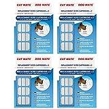 Original Ersatz-Filter Patronen für Verwendung mit Cat Mate und Hund Pet Fountains–2Pack x 4