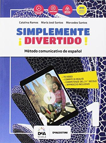 ¡Simplemente divertido! Libro del alumno y cuaderno. Per la Scuola media. Con e-book. Con espansione online. Con file audio formato MP3. Con Libro: En mapas. Con DVD-ROM: 1