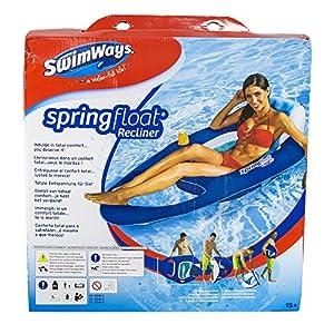 Swimways - Colchoneta premium, tumbona reclinada (Bizak 61921308)