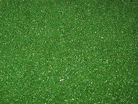 Sable décoratif couleur Sable Sable décoratif, vert, Menge 2 kg