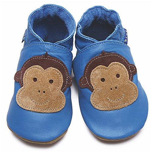 Inch Blue  slipper, Chaussons pour garçon Bleu - bleu
