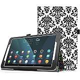 "Huawei MediaPad T1 10.0(9.6"") Tablet Funda - Fintie Folio Soporte Funda Case para Huawei MediaPad T1 10.0(9.6"") Android Tablet, Versailles"