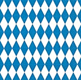 40 Lunchservietten Bayrische Raute (Bayrische Raute)1/4 gefalzt, 3-lagig Größe offen: 33x33