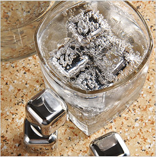 Generic Whiskey Wine Beer Stones Stainless Steel Cooler Stone Ice Cube Chiller Stone 2016