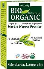 Indus Valley Bio Organic Herbal Henna Powder, 100g