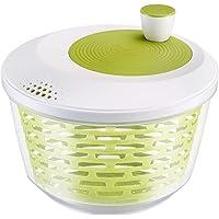 Westmark Essoreuse à Salade, Capacité : 4,4 L, ø 23,5 cm, Plastique, Sans BPA, Spinderella, Couleur: Transparent/Blanc…