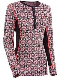 Ropa interior de esquí para mujer Kari Traa rosa Tech ...