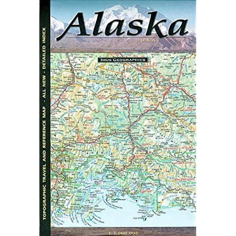 Alaska Map by Imus Geographics by Imus
