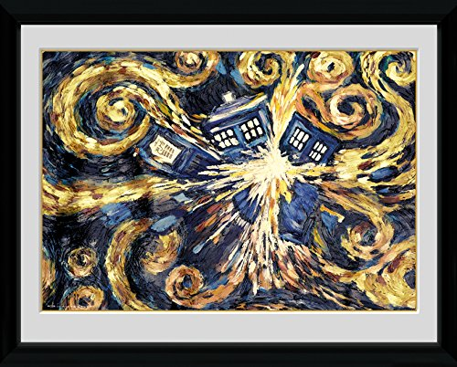 GB eye Gerahmter Kunstdruck, Doctor Who Exploding Tardis, 40,6 x 30,5 cm