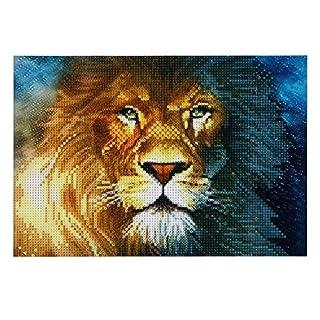 Lion 5D Diamond DIY Painting Craft Kit Amazingdeal365 Home Decor
