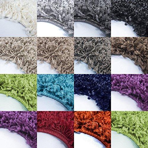 *Teppich* für Wohnzimmer günstig hochflor Shaggy Teppich mit verschiedenen Farben und Größen* Teppiche werden mit 100% PP Headset hergestellt. Gesamthöhe des Teppichs circa 30 mm.