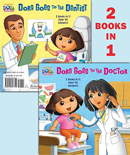 Dora Goes to the Doctor/Dora Goes to the Dentist (Dora the Explorer) por Random House