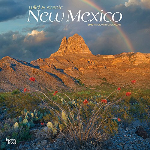 New Mexico Wild & Scenic 2019 Square por Inc Browntrout Publishers