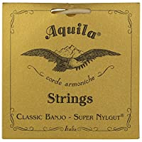 Aquila New Nylgut AQ-1B Banjo Medium Tension DBGDG-Set من 5 (4th Red Series String String )