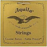 Aquila New Nylgut AQ-1B Banjo Strings - Medium Tension DBGDG - 1 Set of 5 (4th Red Series String)