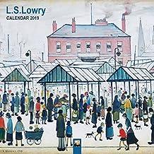 L.S Lowry Wall Calendar 2019 (Art Calendar)