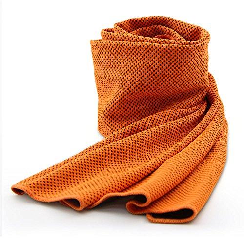 Serviette de refroidissement, maintenir sandure Breath kühle souple avec Chilly Serviette,...