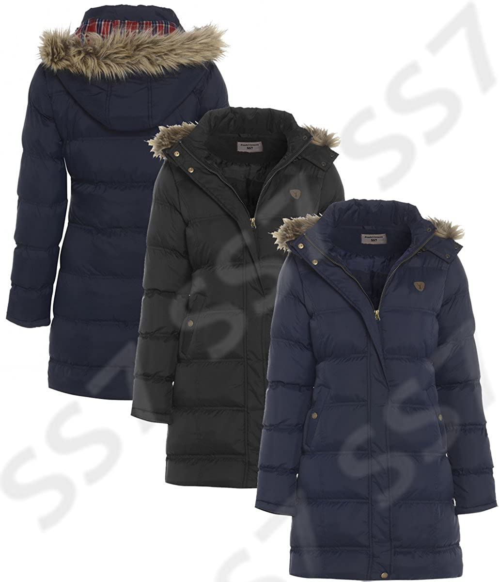 Ladies Navy Parka Jacket | Jackets Review