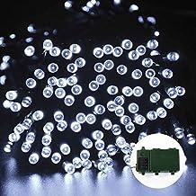 lederTEK Superbright pile luci leggiadramente della stringa a 200 LED 15.7M con timer automatico e (Illuminazione Decorativa A Sospensione Illuminazione)