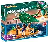 Playmobil 626695 - Isla Desierta + Pirata Náufrago