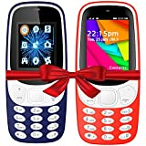 I KALL K3310 (Dark Blue) And K35(Red) Combo Of Dual Sim Mobile With 101 Days Replacement Warranty With 1 Year Manufacturer Warranty