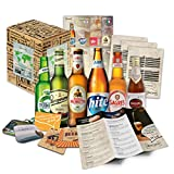 """6 Beer-Specialities from all around the World"". Collection of the most famous varieties of beer. One of the best gift-ideas for men (Birthday, Christmas, Anniversary)"