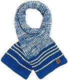 s.Oliver Baby-Jungen Schal 59.710.91.2781, Blau (Dark Blue Stripes 58S4)