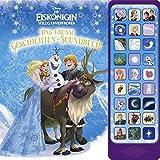 27-Button-Soundbuch - Disney Die Eiskönigin, Das große Geschichten-Soundbuch - Hardcover-Buch - 3 Geschichten und 27 spannende Geräusche zu dem Disney-Film