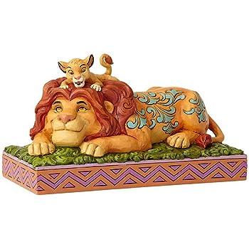 f132c49e0ffde Disney Traditions A Father's Pride Simba and Mufasa Figurine, Resin,  Multi-Colour, 100 x 195 x 110 cm